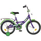 Велосипед URBAN, фиолетовый, 16 дюймов, Novatrack