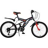 Велосипед TITANIUM, серый, 20 дюймов, Novatrack