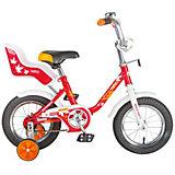 Велосипед UL, красный, 12 дюймов, Novatrack