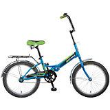 Велосипед TG20, синий, 20 дюймов, Novatrack