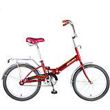 Велосипед TG20, красный, 20 дюймов, Novatrack