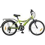 Велосипед RACER, зеленый, 20 дюймов, Novatrack