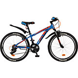 Велосипед EXTREME, синий, 24 дюйма, Novatrack