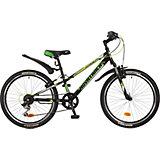Велосипед EXTREME, чёрный, 24 дюйма, Novatrack