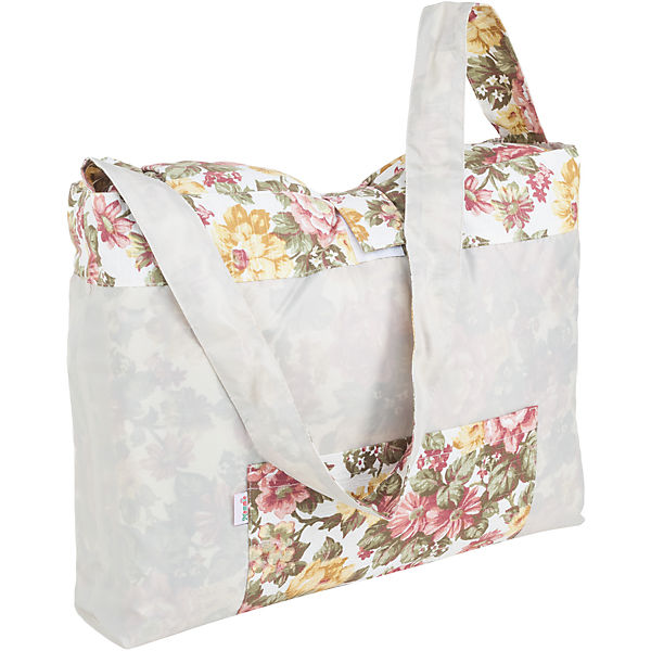 Термоодеяло для пикника с сумкой, Mammie, флора
