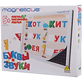"Мягкая магнитная азбука ""Буквы и звуки"",  Magneticus"