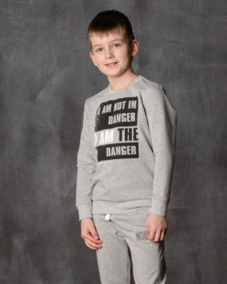 Толстовка для мальчика Modniy Juk - серый