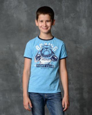 Футболка для мальчика Modniy Juk - голубой