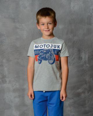 Футболка для мальчика Modniy Juk - серый