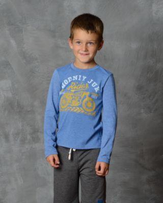 Футболка с длинным рукавом для мальчика Modniy Juk - голубой
