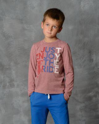 Футболка с длинным рукавом для мальчика Modniy Juk - красный