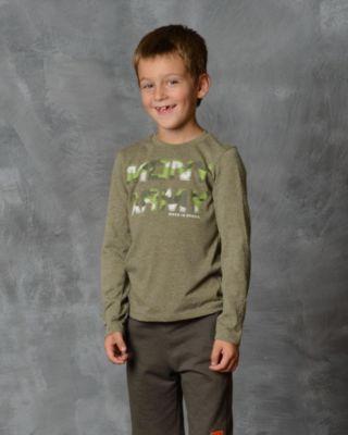 Футболка с длинным рукавом для мальчика Modniy Juk - зеленый