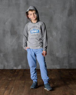 Футболка с длинным рукавом для мальчика Modniy Juk - серый