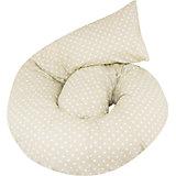 """Подушка для беременных """"Гранда"""", 360х38см.,  La Armada, горох/оливковый"""