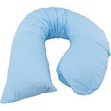 "Подушка для беременных ""Регина"", 210х38см.,  La Armada, голубой сатин"
