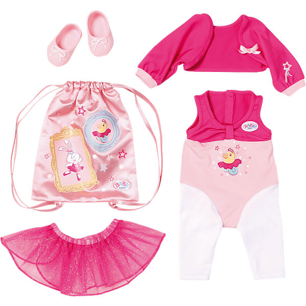 exklusiv baby born deluxe ballerina outfit 43 cm baby. Black Bedroom Furniture Sets. Home Design Ideas
