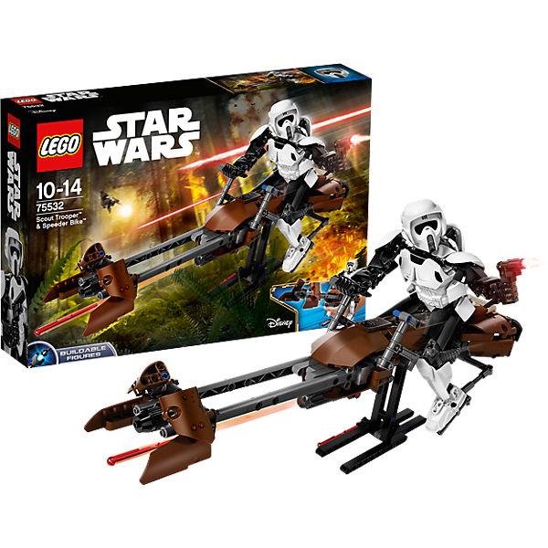 Конструктор Lego Star Wars 75532: Штурмовик-разведчик на спидере