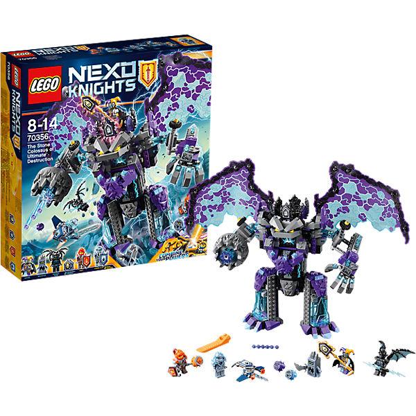 Конструктор Lego Nexo Knights 70356: Каменный великан-разрушитель