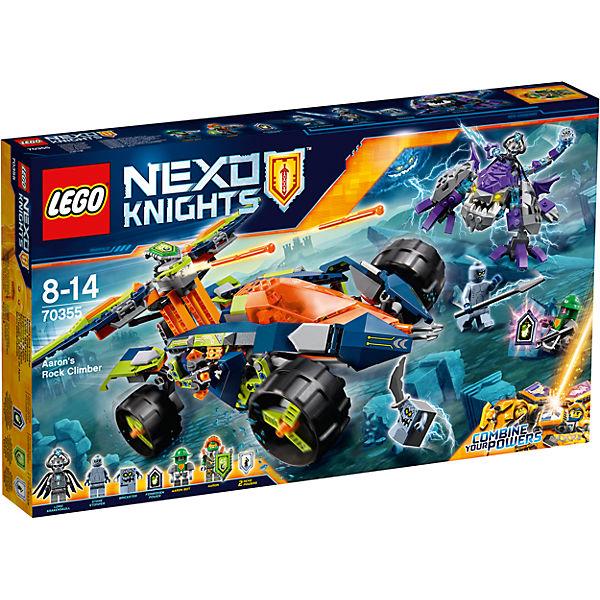 Конструктор Lego Nexo Knights 70355: Вездеход Аарона 4x4