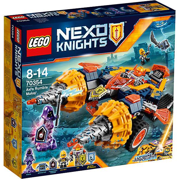 Конструктор Lego Nexo Knights 70354: Бур-машина Акселя
