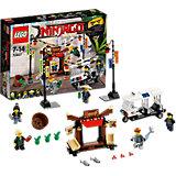 LEGO NINJAGO 70607: Ограбление киоска в Ниндзяго Сити