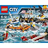 LEGO City 60167: Штаб береговой охраны
