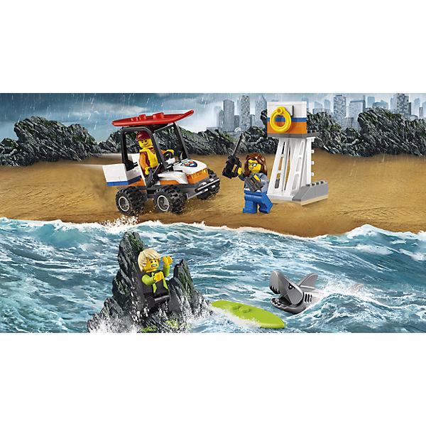 LEGO City 60163: Набор для начинающих «Береговая охрана»