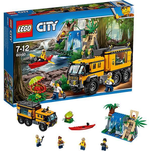 LEGO City 60160: Передвижная лаборатория в джунглях