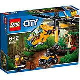 LEGO City 60158: Грузовой вертолёт исследователей джунглей