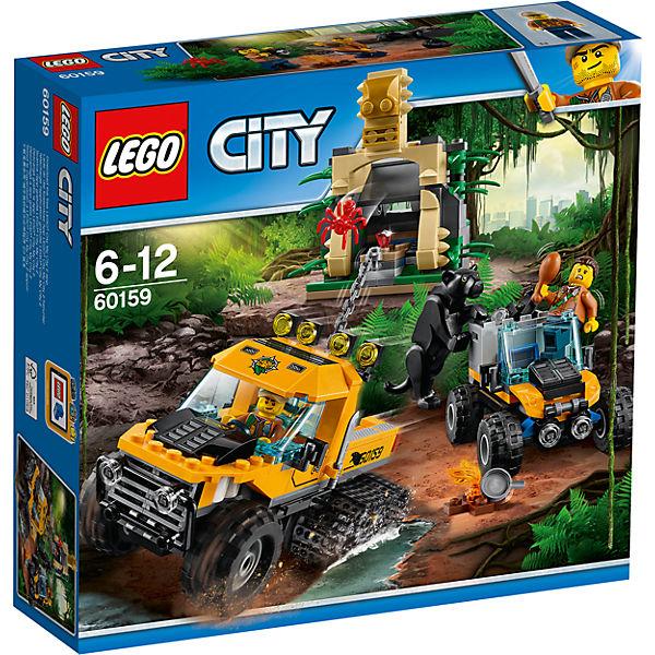 """LEGO City 60159: Миссия """"Исследование джунглей"""""""