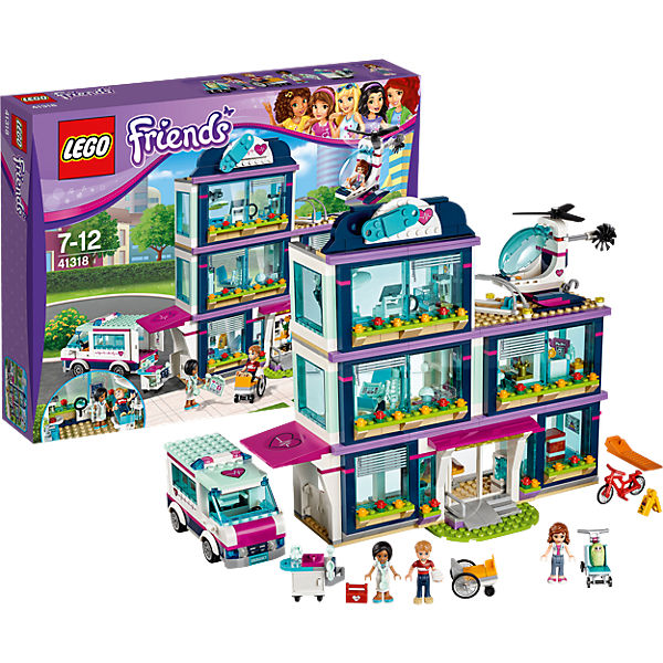 LEGO Friends 41318: Клиника Хартлейк-Сити