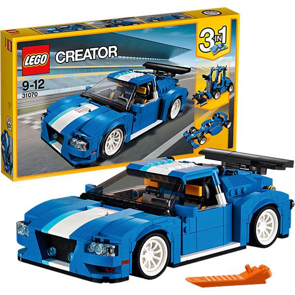 LEGO Creator 31070: Гоночный автомобиль