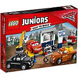 """Конструктор LEGO Juniors 10743 """"Тачки 3"""": Гараж Смоуки"""