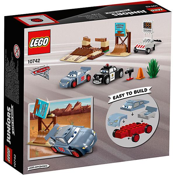 """Конструктор LEGO Juniors 10742 """"Тачки 3"""": Тренировочный полигон Вилли Бутта"""