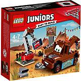 "Конструктор LEGO Juniors 10733: ""Тачки 3"" Свалка Мэтра"