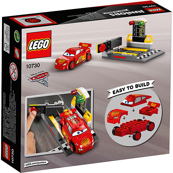 LEGO Juniors 10730: Устройство для запуска Молнии МакКуина
