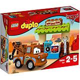"Конструктор LEGO DUPLO 10856 ""Тачки 3"": Гараж Мэтра"
