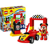 LEGO DUPLO 10843: Гоночная машина Микки