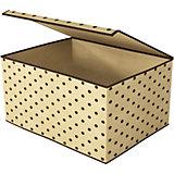 Коробка для хранения вещей с крышкой (25х19х15 см), Homsu