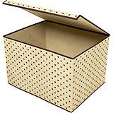 Коробка для хранения вещей с крышкой (38х25х30 см), Homsu