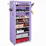Тканевый шкаф для обуви и аксессуаров Элис, Homsu, фиолетовый