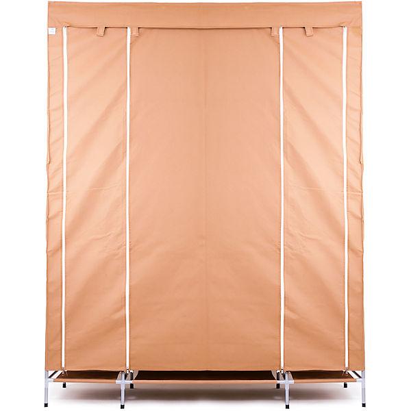 Тканевый шкаф Маджорити, Homsu, коричневый
