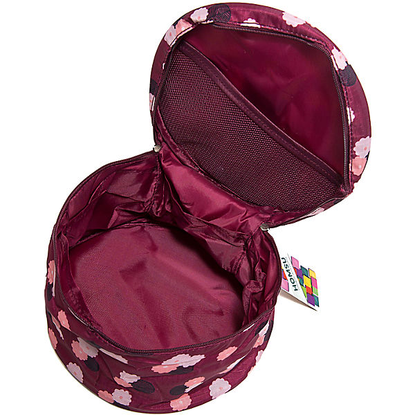 Органайзер круглый Цветок, Homsu, бордовый