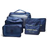 Набор органайзеров для багажа, Homsu, синий