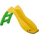 Горка Детская, PalPlay, желто-зеленая