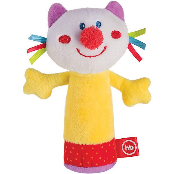 Погремушка-пищалка Сheepy Kitty, Happy baby