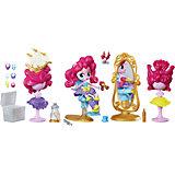 "Мини-кукла Hasbro Equestria Girls ""Пижамная вечеринка"" Салон красоты Пинки Пай"