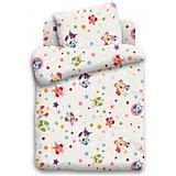 Детское постельное белье 1,5 сп. Кошки-мышки, Многоцветие