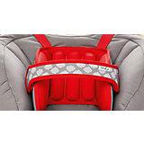 Подушка для поддержки головы в автокресло, NapUp, красная