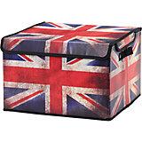 """Кофр складной для хранения 41*36*26 см. """"Британский флаг"""", EL Casa"""